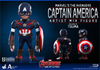 Hot Toys Captain America - Artist Mix Collectible Figure
