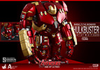 Hot Toys Mark XLIII Battle Damaged Version and Hulkbuster - Artist Mix Collectible Set