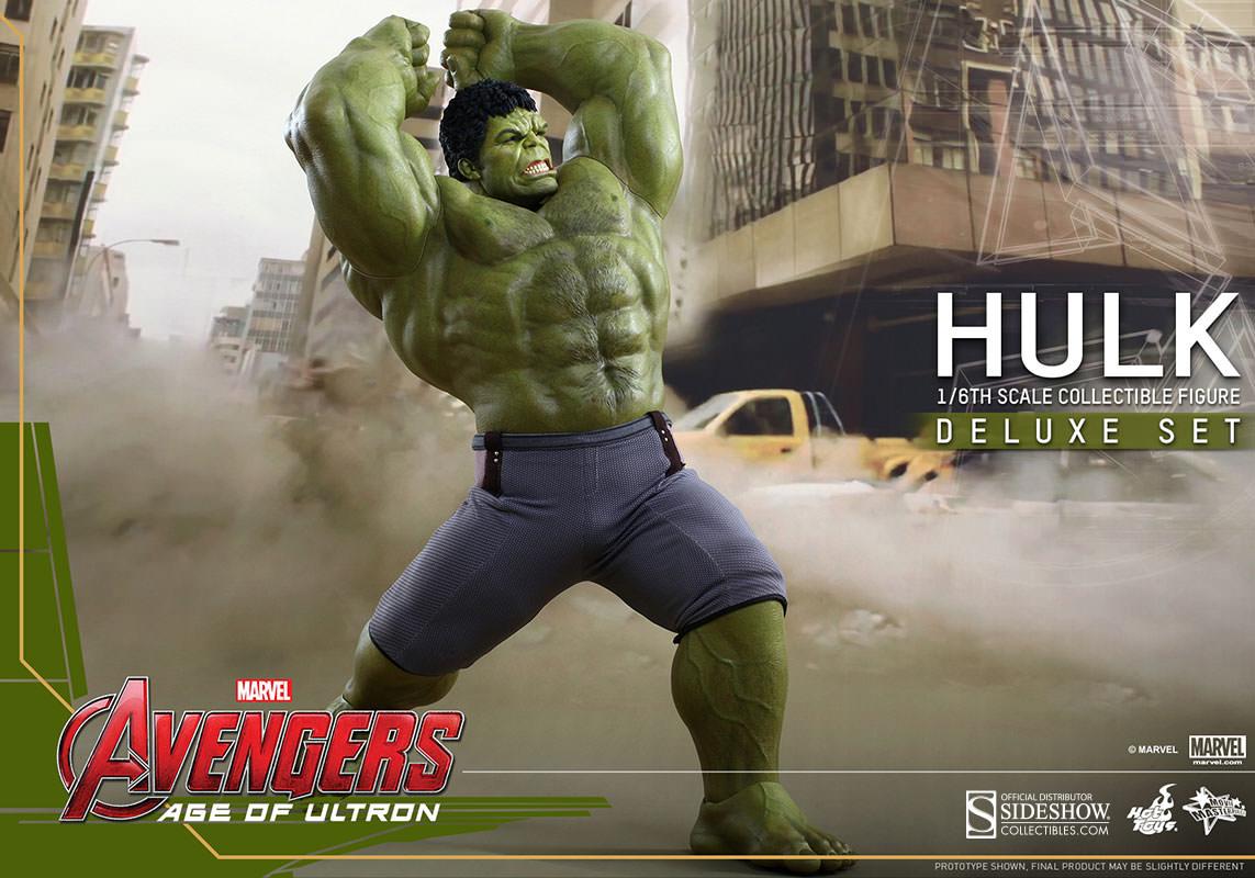 Avengers L'Ere d'Ultron série 1.5 figurine Cosbaby Hulk Hot Toys  France