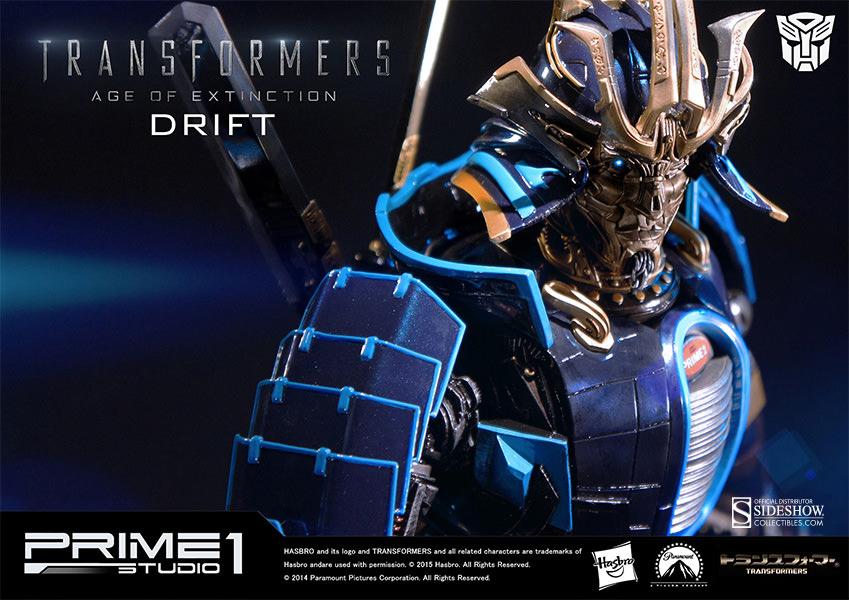 Transformers drift polystone statue by prime studio
