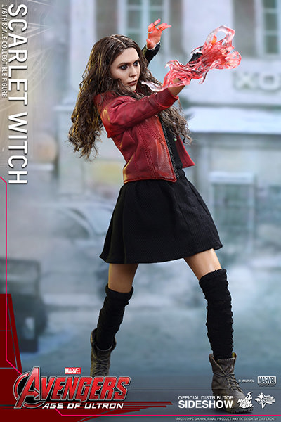 Marvel Scarlet Witch Sixth Scale Figure By Hot Toys