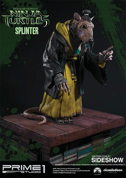 TMNT Splinter Polystone Statue by Prime 1 Studio ...