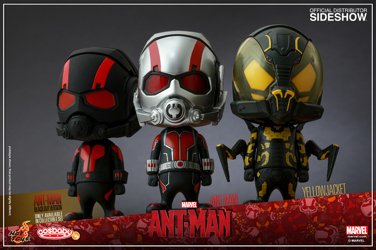 Marvel Ant Man Collectible Set Of 3 Vinyl Collectible By