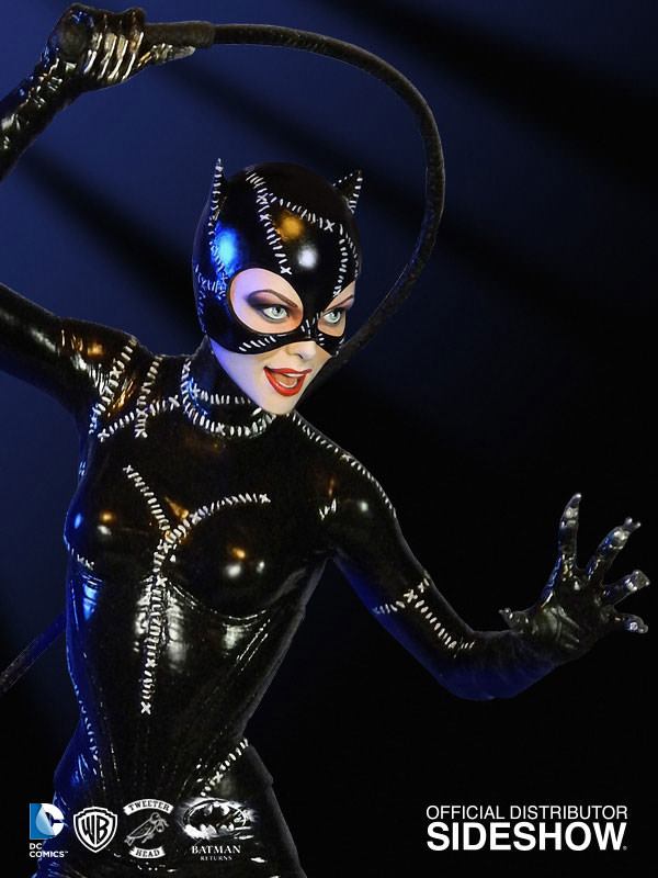 Dc Comics Catwoman Maquette By Tweeterhead Sideshow