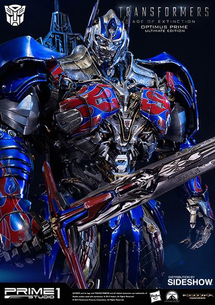 transformers optimus prime ultimate edition polystone statue