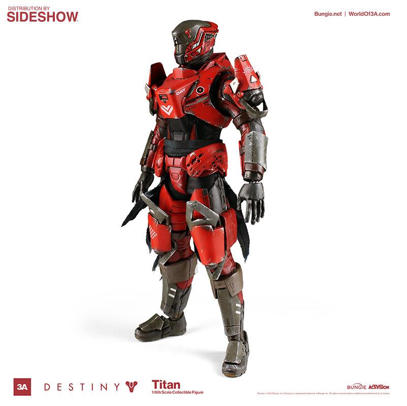 Destiny Titan Sixth Scale Figure by ThreeA Toys | Sideshow ...