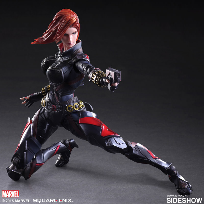 marvel black widow variant collectible figure by square enix sideshow collectibles. Black Bedroom Furniture Sets. Home Design Ideas