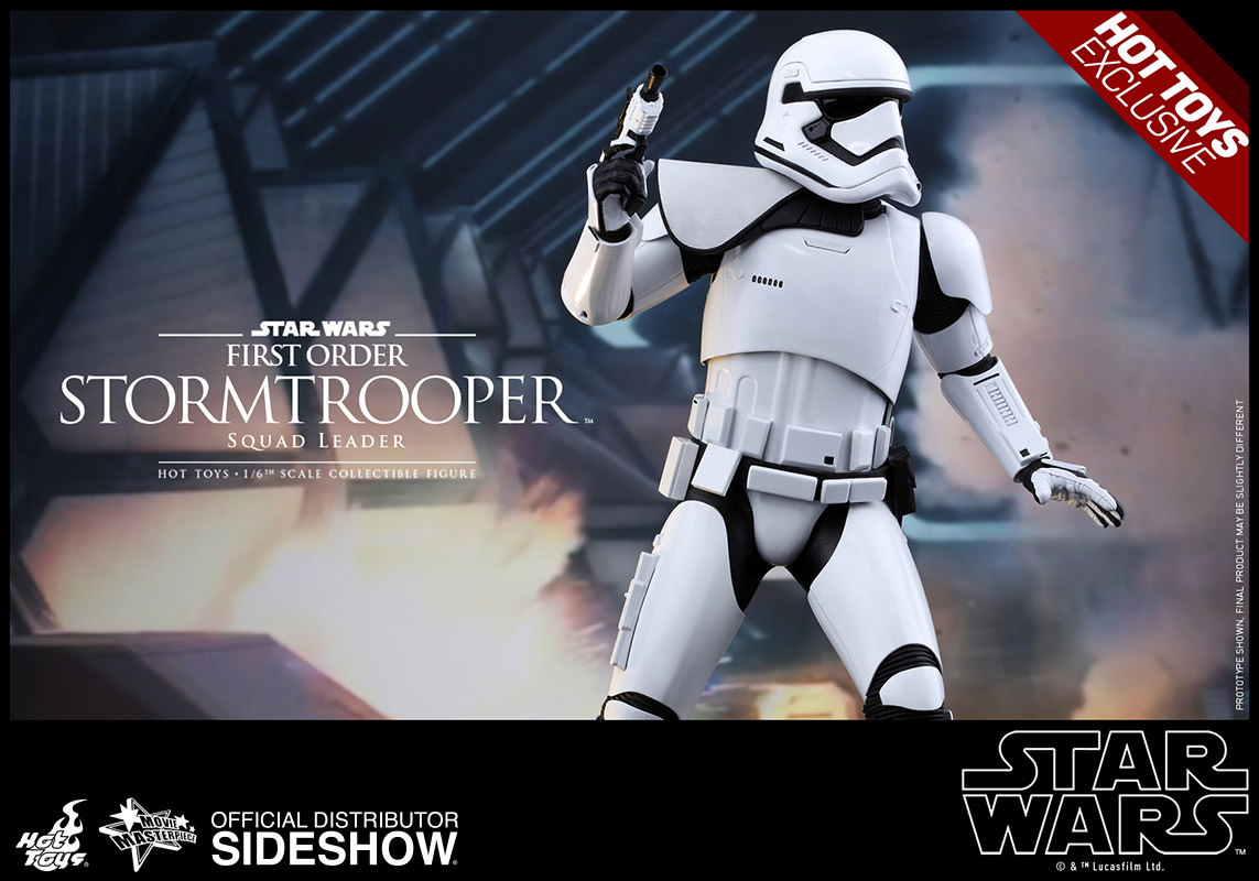 star wars first order stormtrooper squad leader sixth scale sideshow collectibles. Black Bedroom Furniture Sets. Home Design Ideas