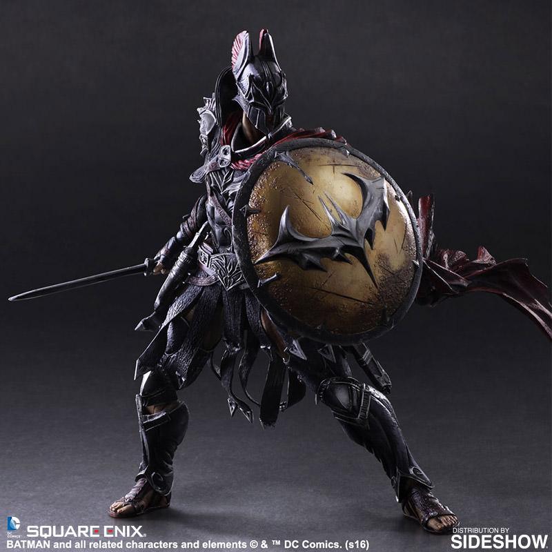 dc comics batman timeless sparta collectible figure by squar