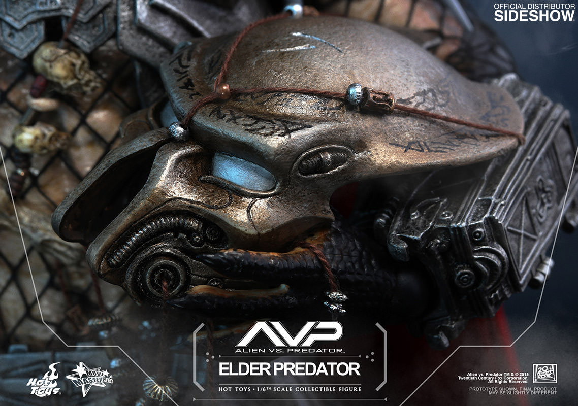 Alien Vs Predator Elder Predator Sixth Scale Figure By Hot T