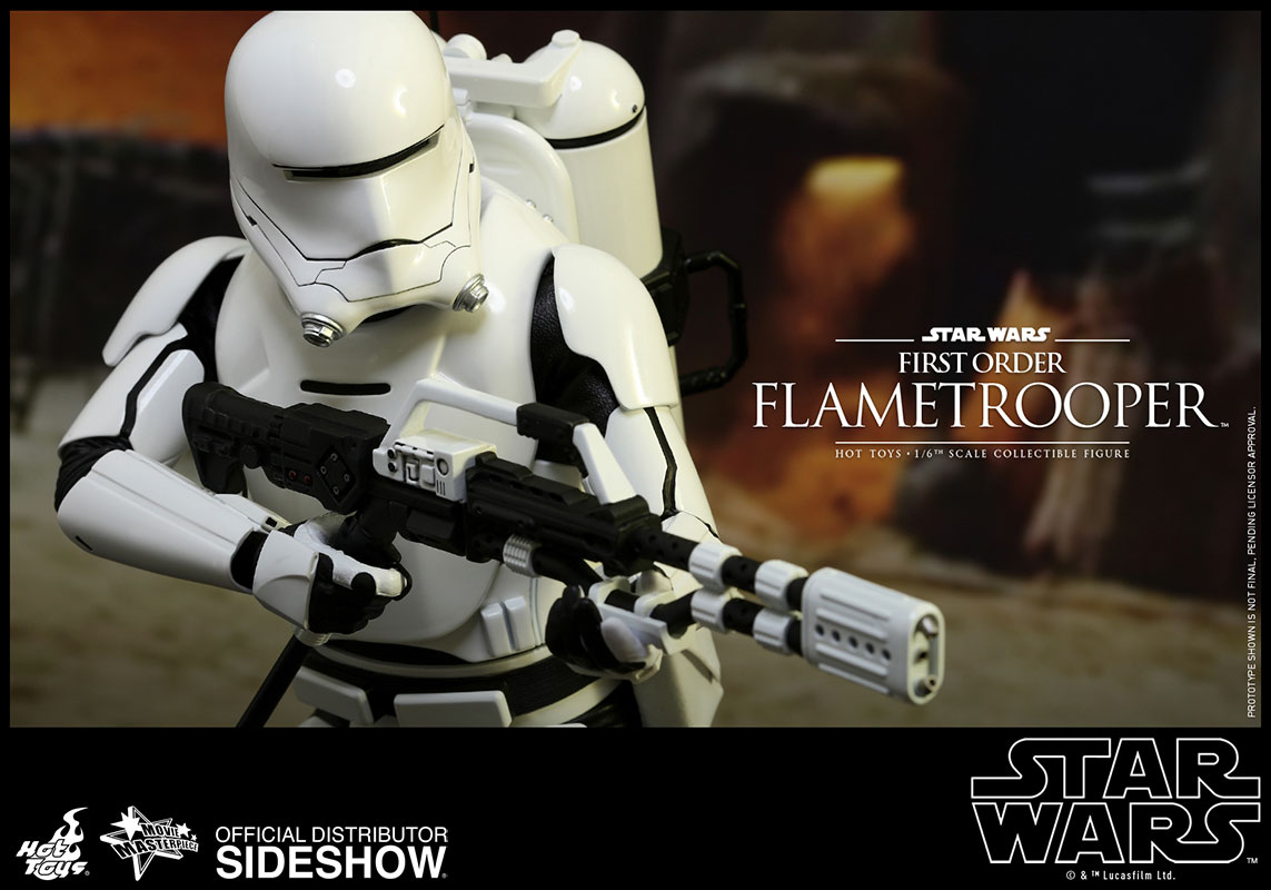 first order flametrooper sideshow collectibles. Black Bedroom Furniture Sets. Home Design Ideas