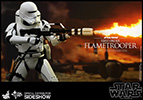 Hot Toys First Order Flametrooper Sixth Scale Figure