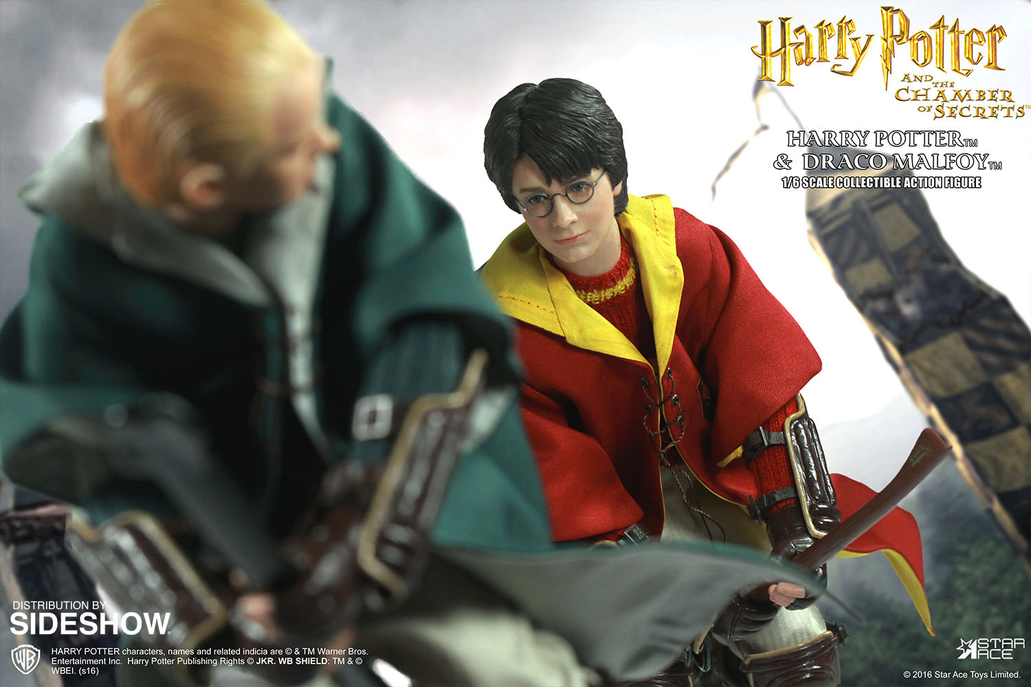 Harry Potter Harry Potter and Draco Malfoy Quidditch ...