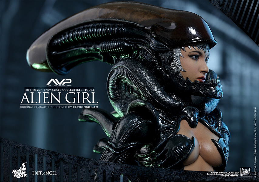 Alien VS Predator Alien Girl Sixth Scale Figure by Hot ...