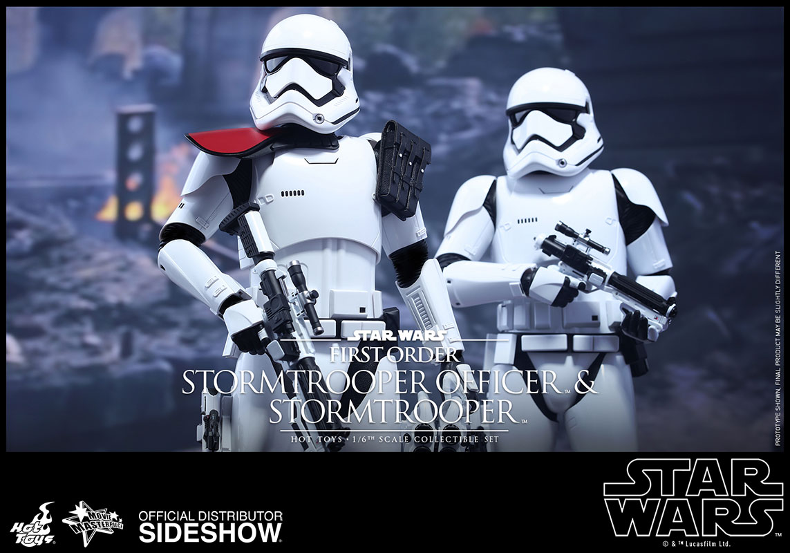 star wars first order stormtrooper officer and stormtrooper sideshow collectibles. Black Bedroom Furniture Sets. Home Design Ideas