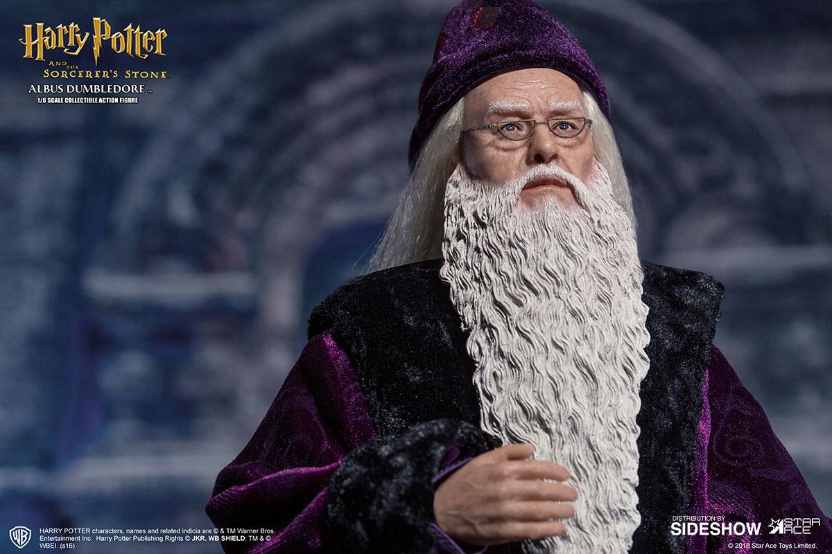 Harry Potter Albus Dumbledore Deluxe Version Sixth Scale ...