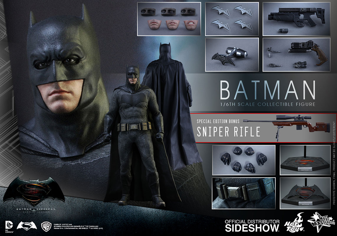 dc comics batman sixth scale figure by hot toys sideshow. Black Bedroom Furniture Sets. Home Design Ideas