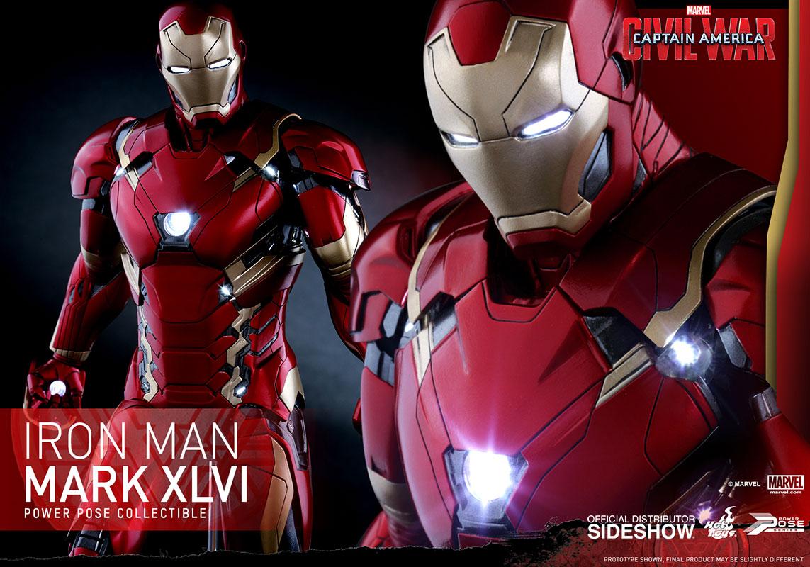 Figurine Pop ! Iron Man Civil War  Logostore