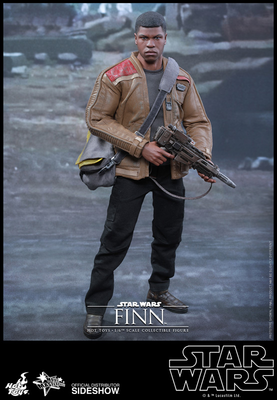 star wars finn sixth scale figure by hot toys sideshow