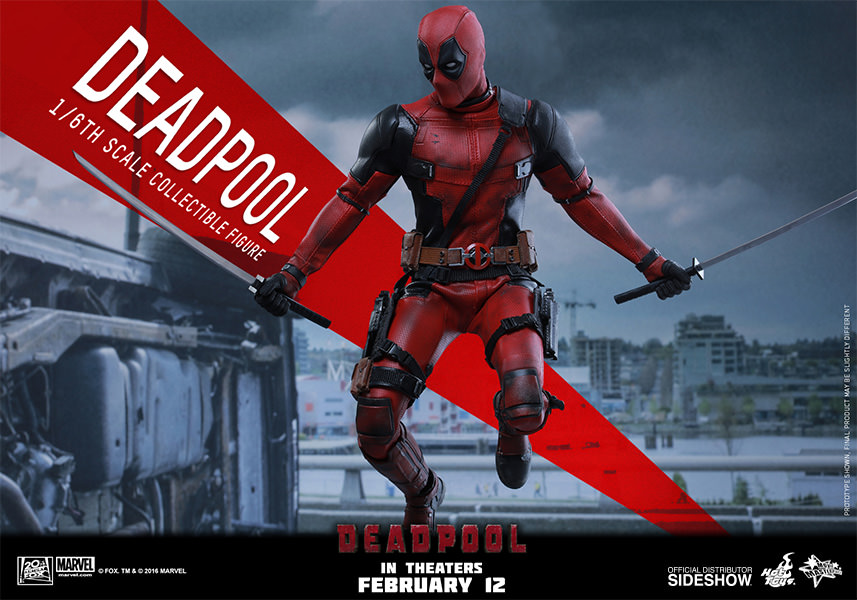 Marvel deadpool sixth scale figure by hot toys sideshow for Deadpool show