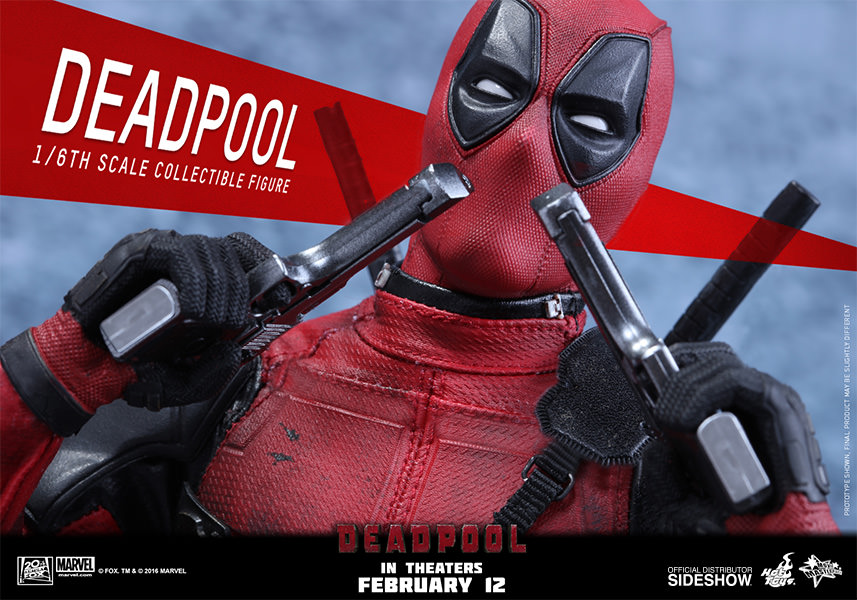 Marvel Deadpool Sixth Scale Figure by Hot Toys | Sideshow ...