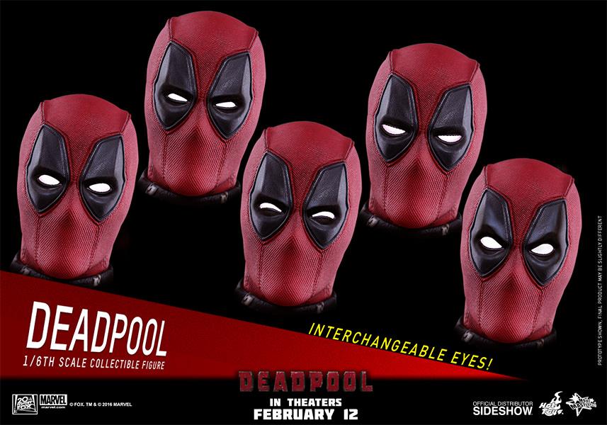 Marvel deadpool sixth scale figure by hot toys sideshow collectibles hot toys deadpool sixth scale figure solutioingenieria Images