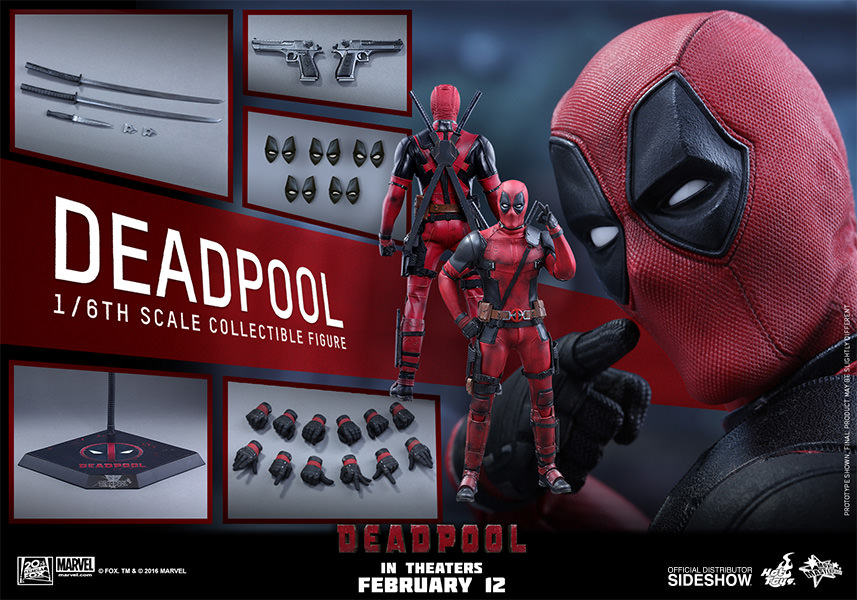 Hot Toys Sixth Scale Deadpool