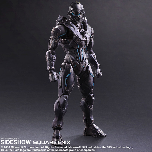 halo spartan locke collectible figure by square enix