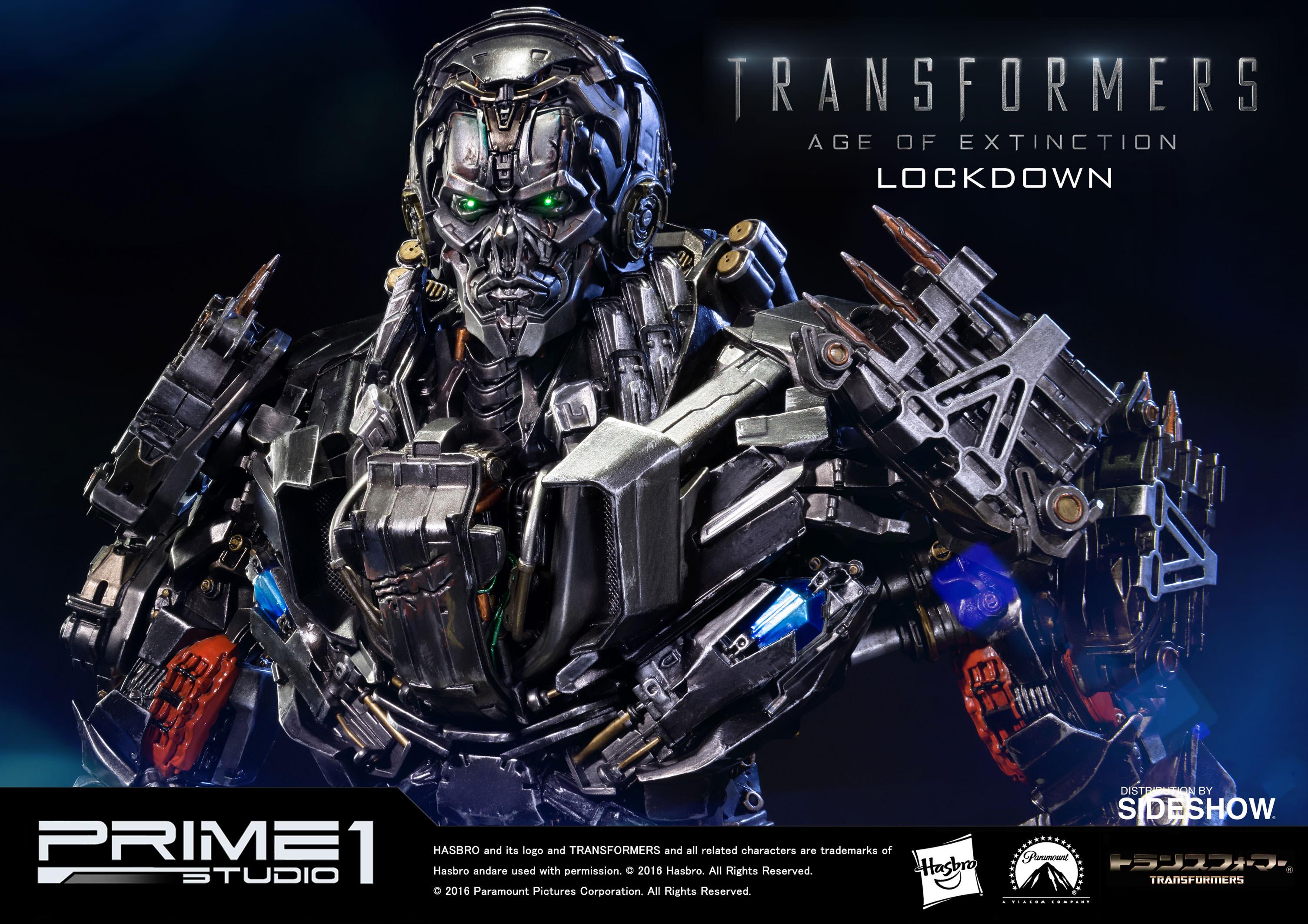 transformers lockdown polystone statueprime 1 studio | sideshow
