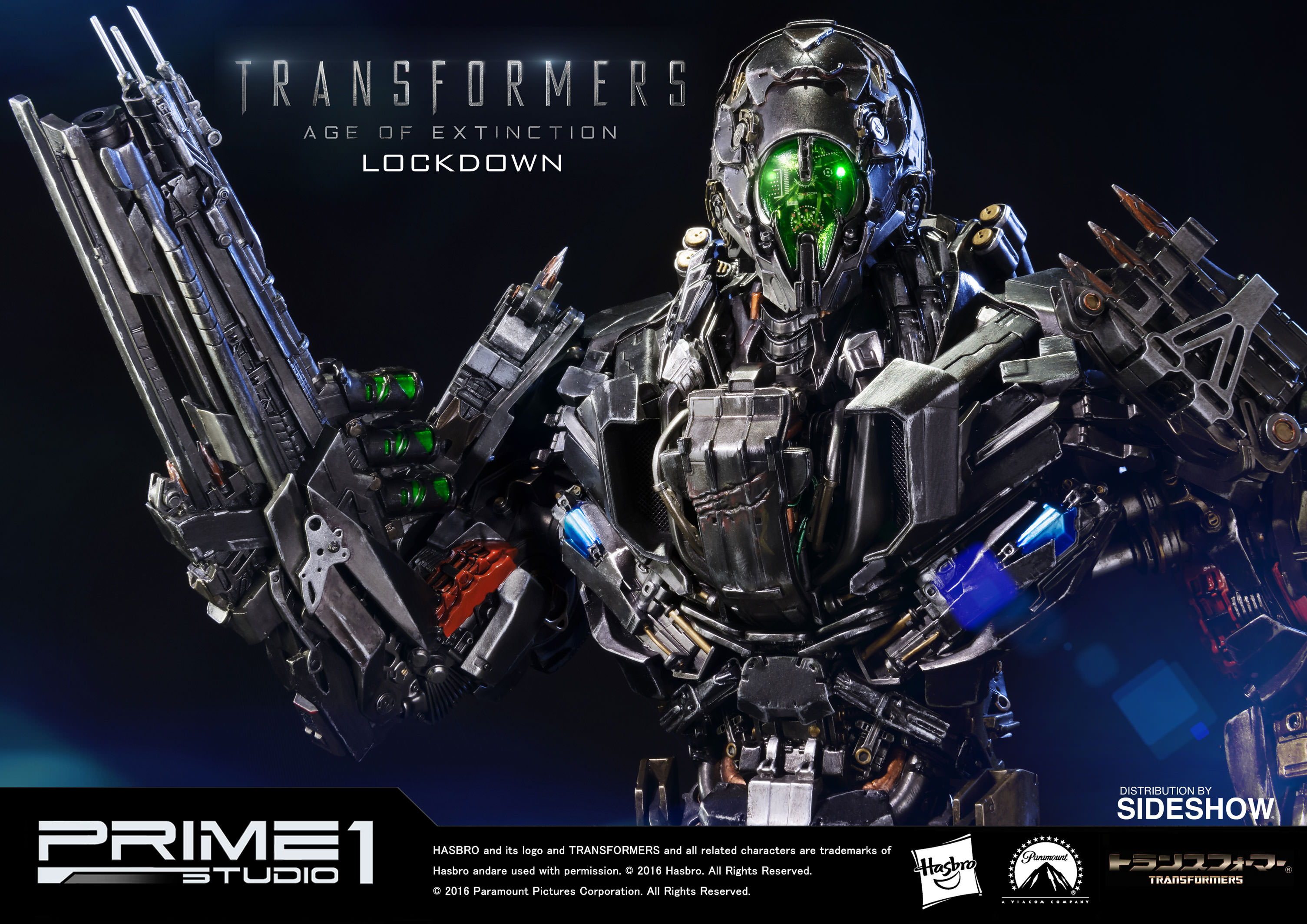 Transformers Lockdown Polystone Statue by Prime 1 Studio ...