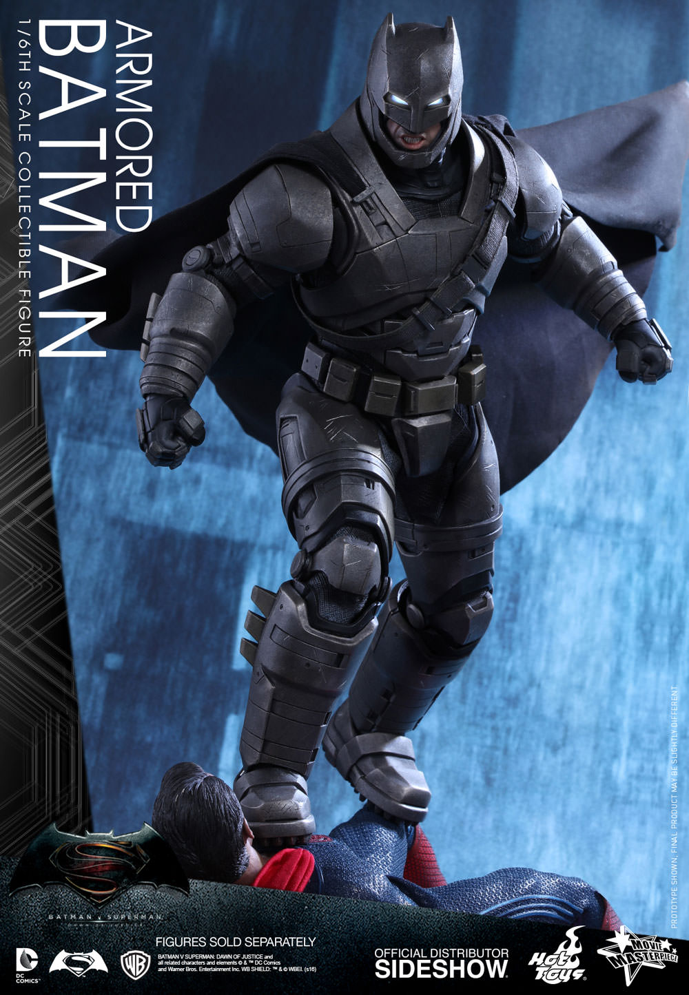 Armored Batman Sixth Scale Figure   Prototype Shown Armored Batman 7EHBS4mM