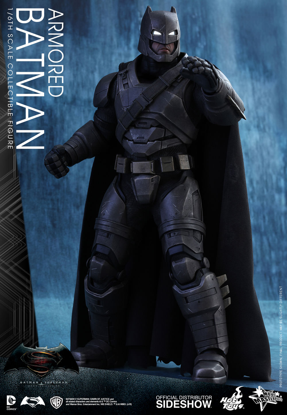 dc comics armored batman sixth scale figure by hot toys. Black Bedroom Furniture Sets. Home Design Ideas
