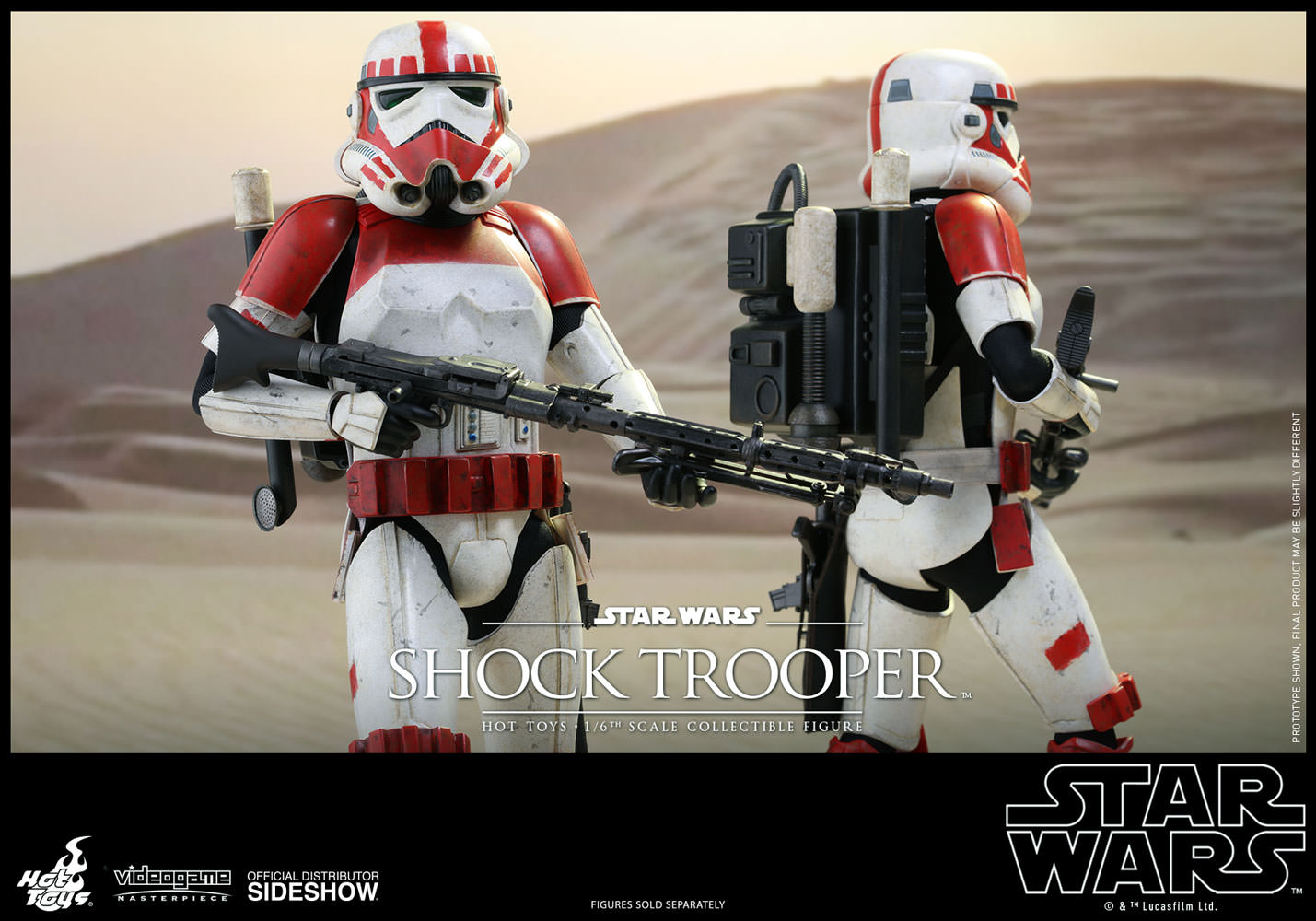 Star wars shock trooper sixth scale figure by hot toys sideshow
