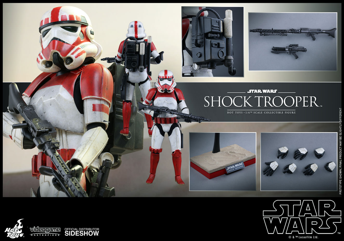 Star Wars Shock Trooper Sixth Scale Figure By Hot Toys Sideshow 1 6