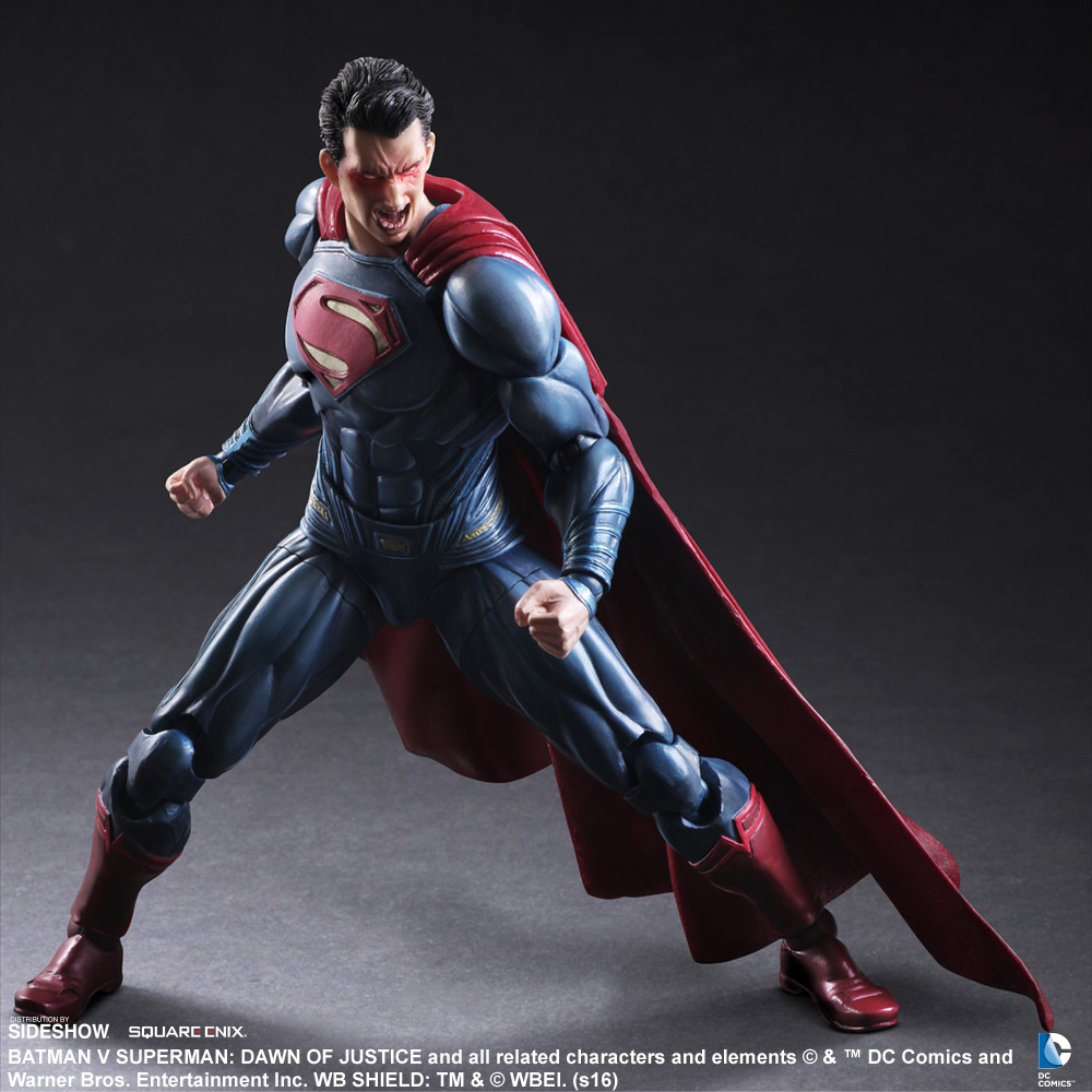 Superman Collectible Figure Prototype Shown