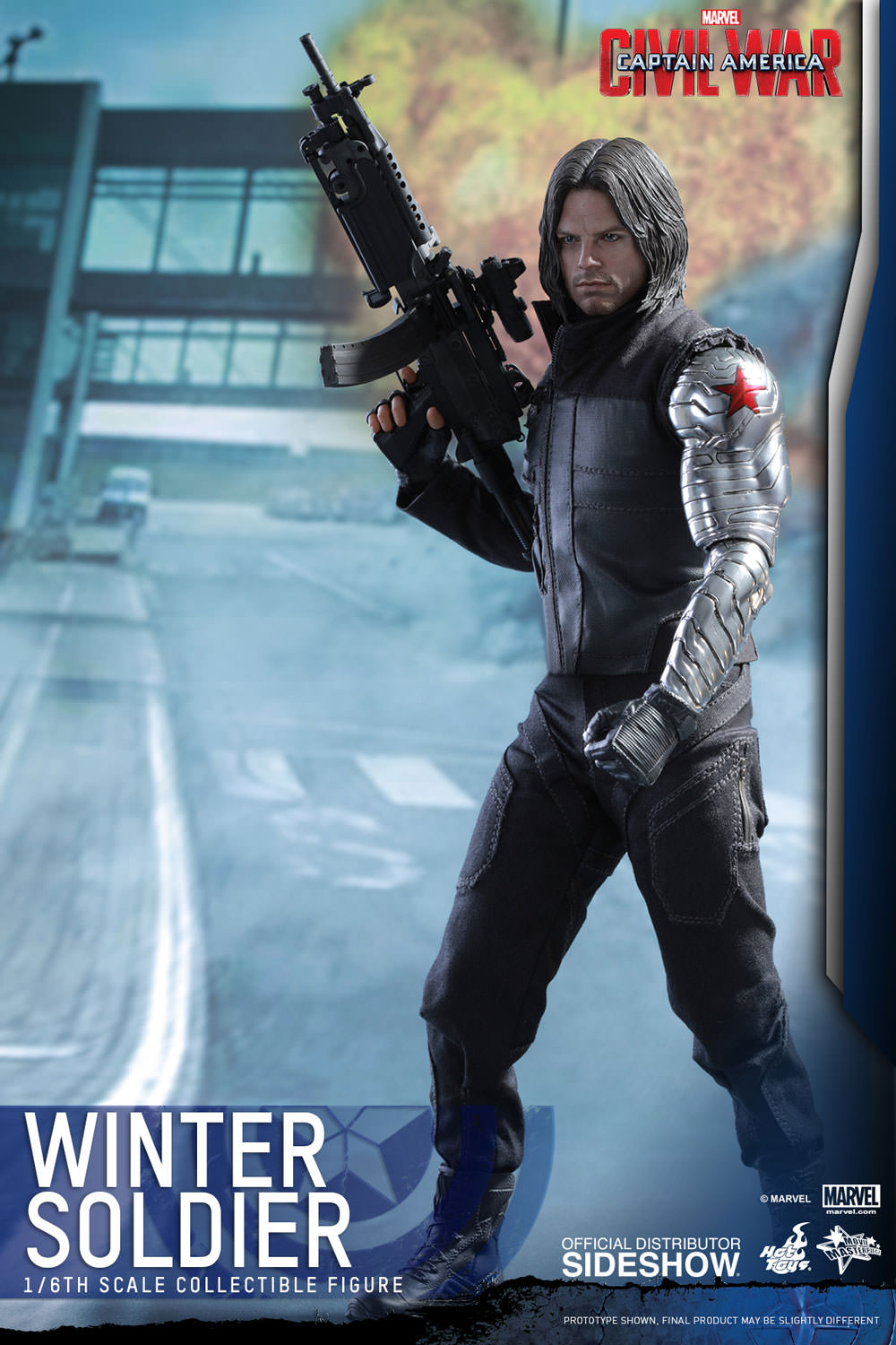 Marvel Winter Soldier Sixth Scale Figure by Hot Toys ...
