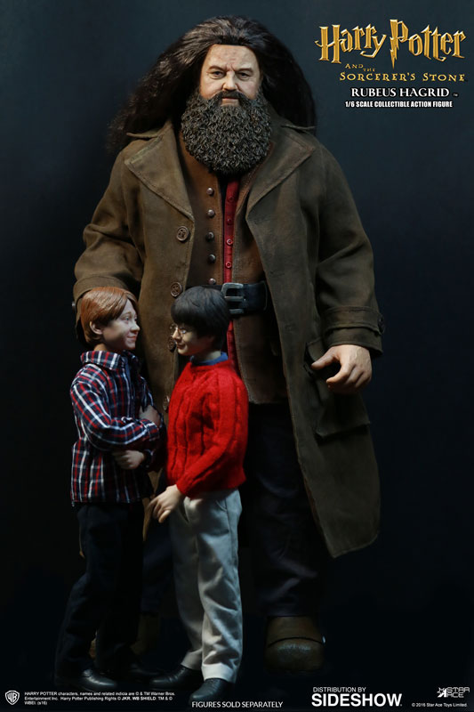 harry potter rubeus hagrid sixth scale figure by star ace to