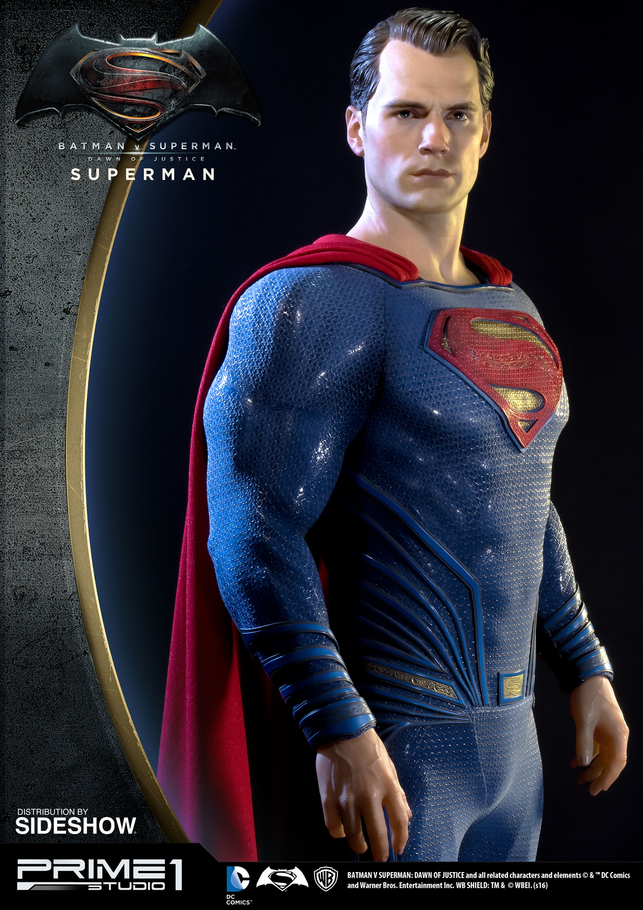 Superman Statue from Batman v Superman by Prime 1 Studio