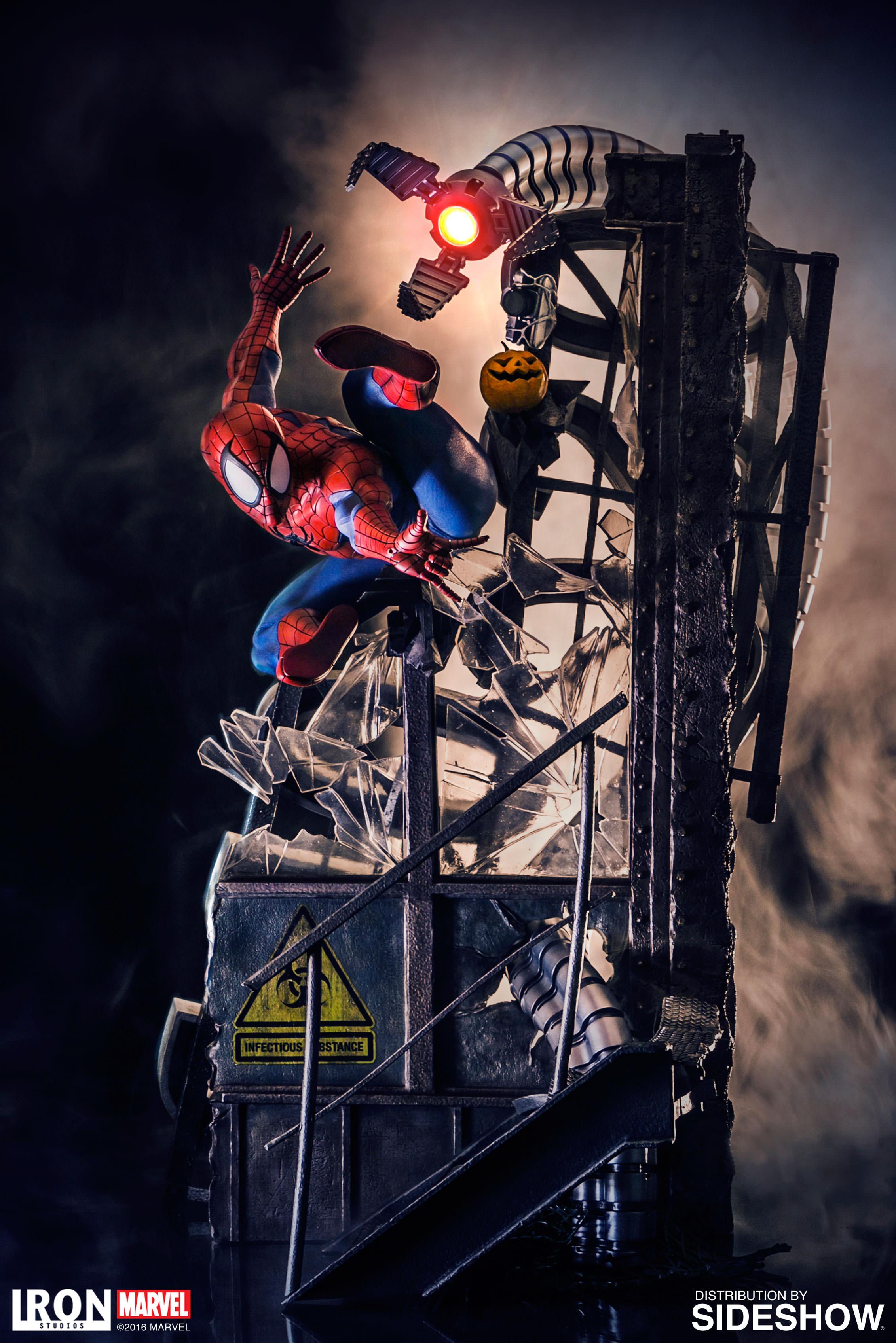 Marvel Spider-Man Polystone Statue by Iron Studios ...