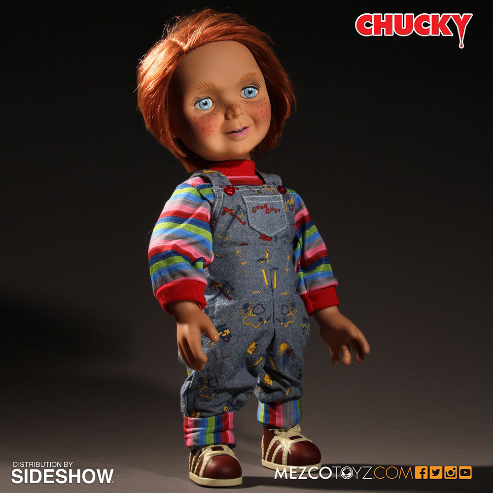 Childs Play Good Guys Chucky Talking Doll Collectible ...
