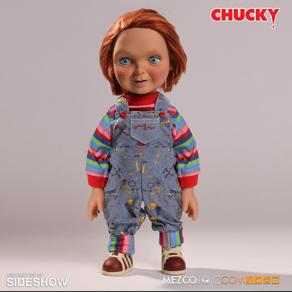 Childs play good guys chucky talking doll collectible for Espejo que habla juguete