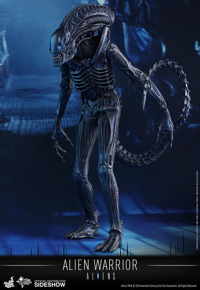 aliens alien warrior sixth scale figure by hot toys