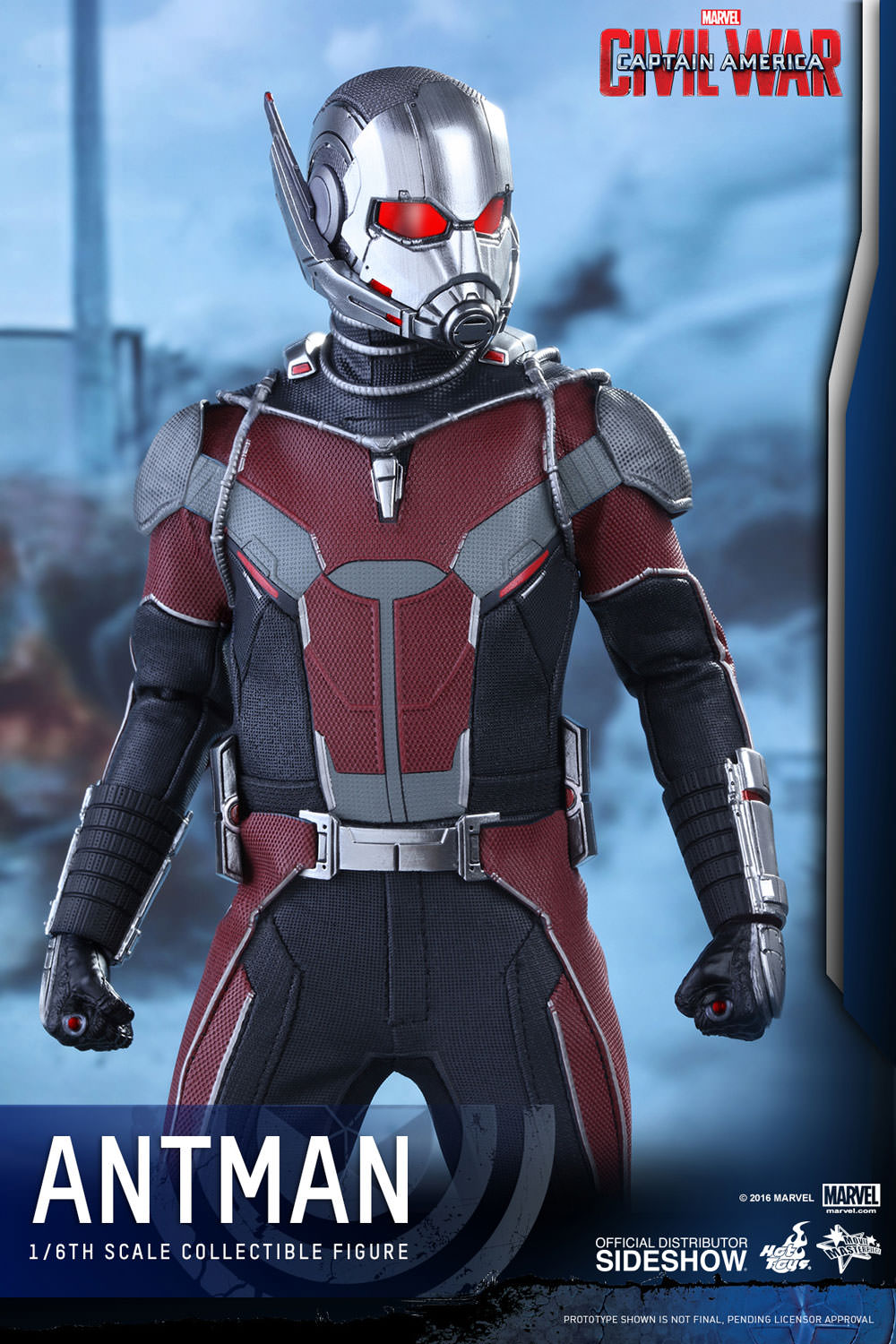 Marvel Ant-Man Sixth Scale Figure by Hot Toys | Sideshow ...