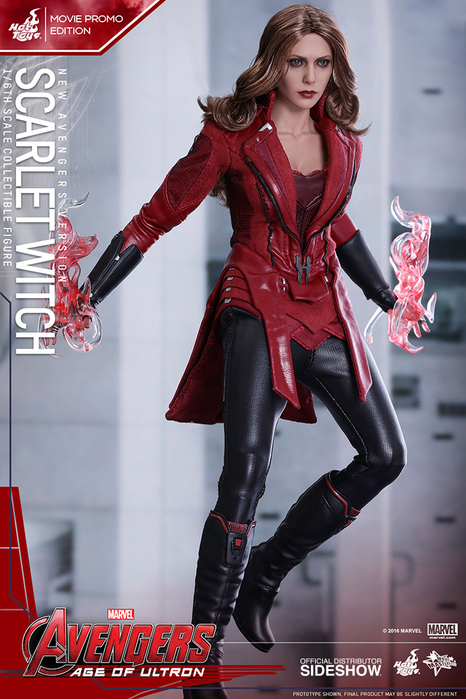 Marvel Scarlet Witch New Avengers Version Sixth Scale Figure