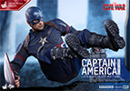Hot Toys Captain America Battling Version Sixth Scale Figure