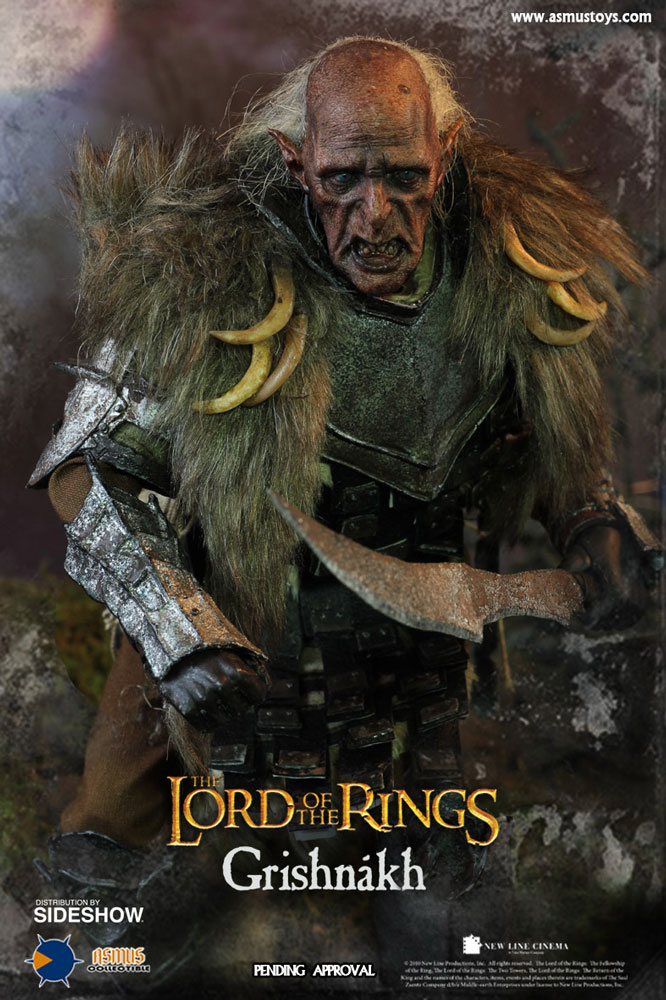 The Lord of the Rings Grishnakh Sixth Scale Figure by ...