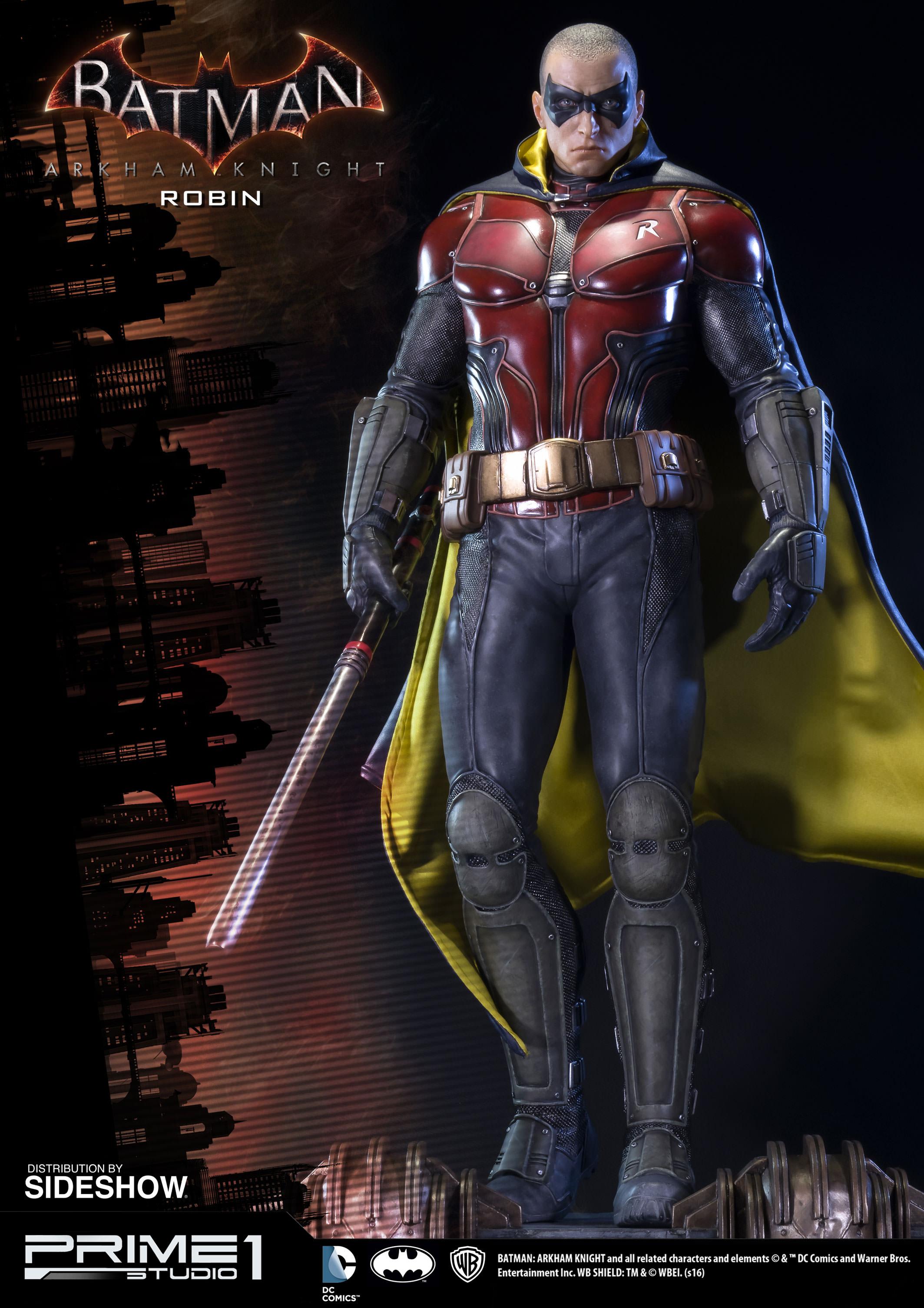 Batman arkham knight red robin