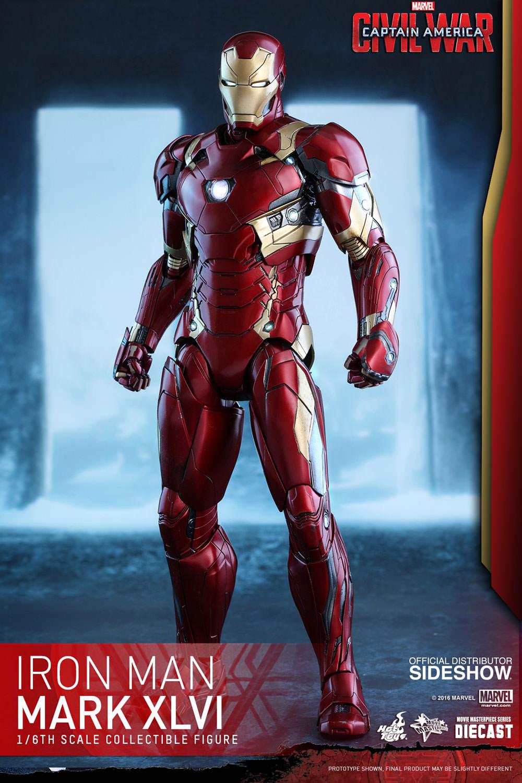 Produits Dérivés / a pré commander / Marvel Civil War Pop Figurine Iron Man