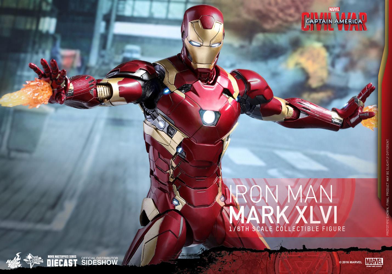 Iron Man Lawan Captain America
