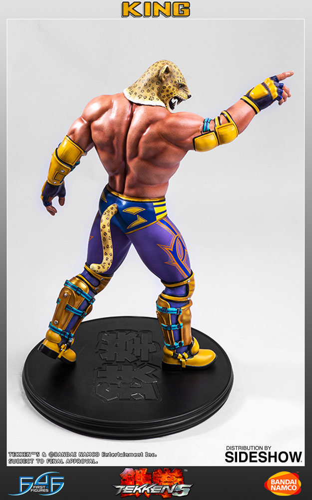Tekken 5 King Statue By First 4 Figures Sideshow